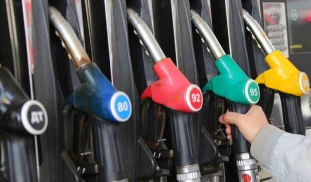 Цены набензин уже обошли инфляцию