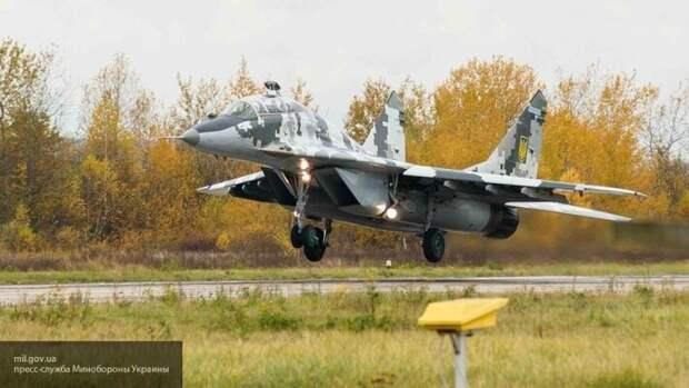 ГБУ раскрыла схемы Украины по продаже Польше ворованных деталей для МиГ-29