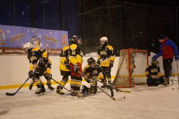 Хоккейный турнир между младшими командами округов пройдет в Левобережном