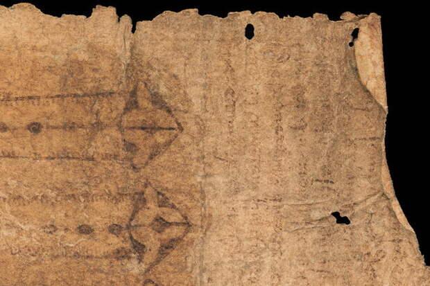 Ученые провели биомолекулярный анализ средневекового пергамента «родового пояса»
