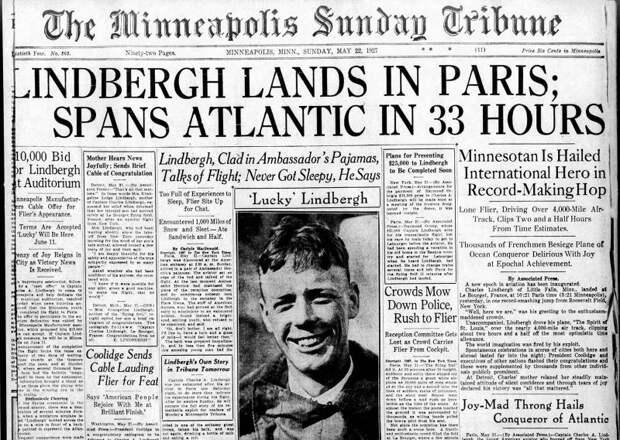 Чарльз Линдберг: самый знаменитый лётчик Америки