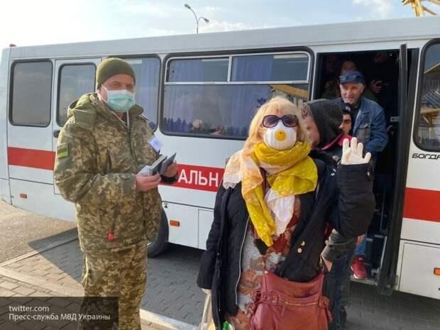 Нацгвардия Украины взяла под охрану больницу, куда пытались ворваться напуганные киевляне