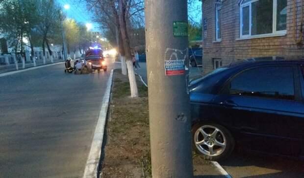 ДТП в Оренбурге в переулке Сакмарский. МЧС сообщает о нескольких пострадавших