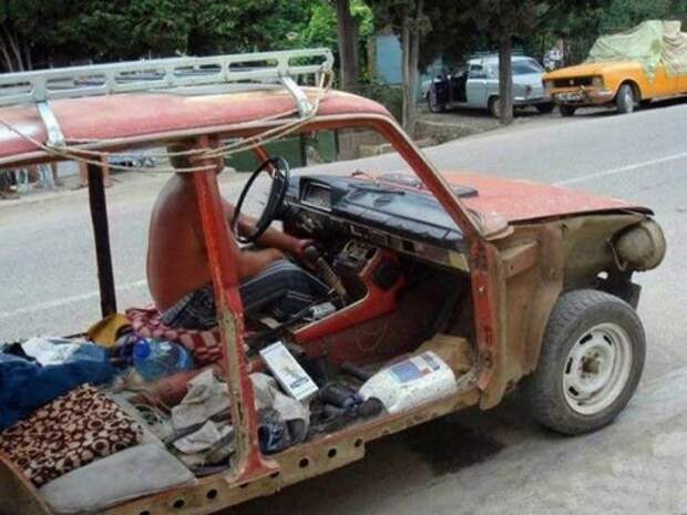 Сумасшедшие транспортные средства (21 фото)
