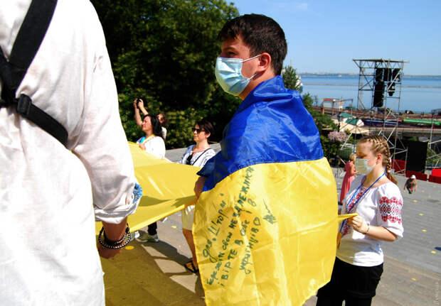 Американец протестировал свободы в/на Украине