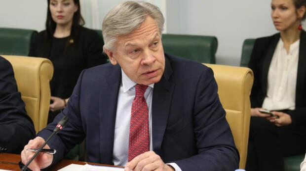 Пушков указал на несоответствие слов Байдена и заявлений Пентагона