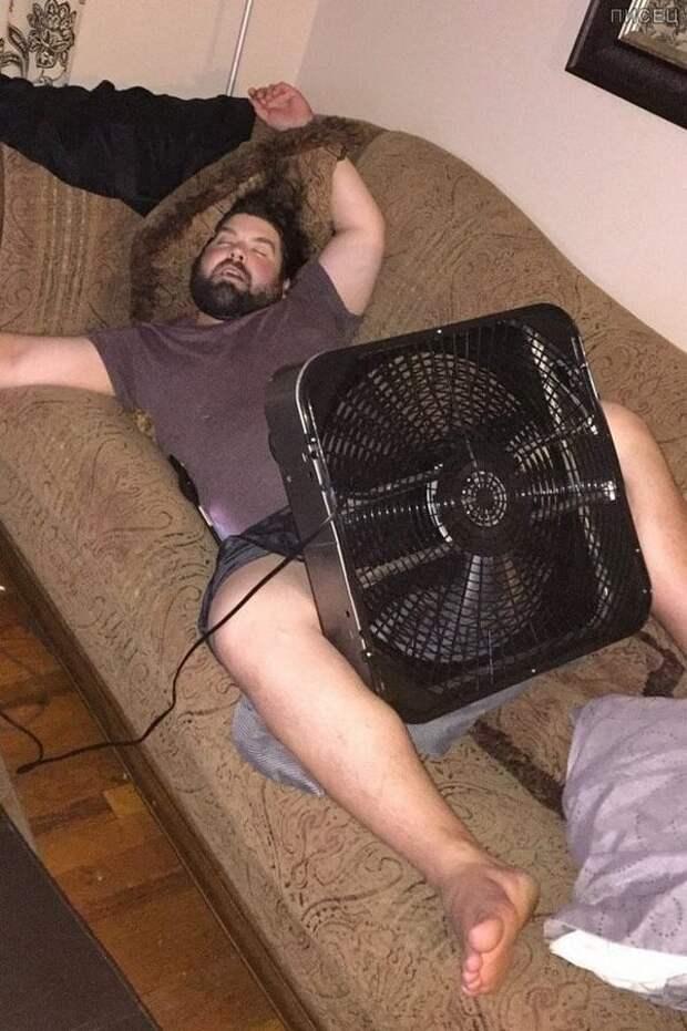 Когда наступила настоящая жара. Вот это да!