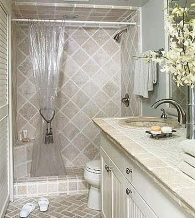 Прремонте ванной комнаты используйте матеиалы с долгим сроком службы