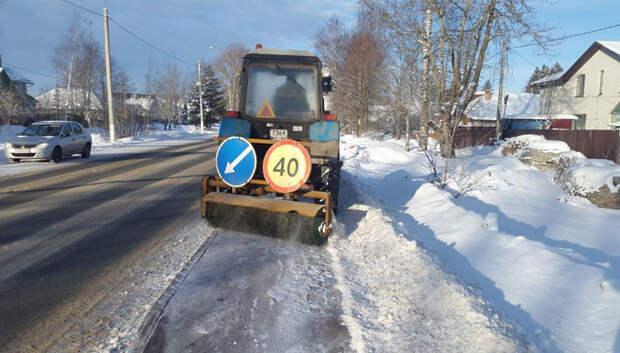 Дорожные службы Подмосковья работают в усиленном режиме из‑за снегопада
