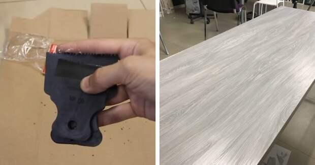 Простой и доступный метод обновления столешницы. Справится даже новичок в этом деле