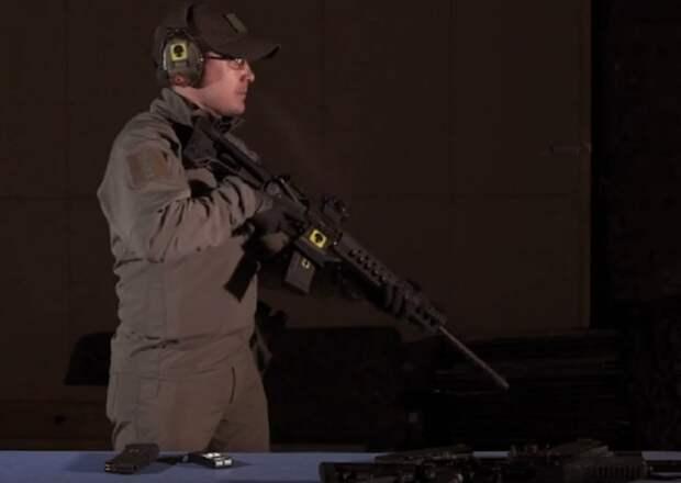 Эксперты показали на видео сравнительные тесты АК-12 и американской винтовки М4