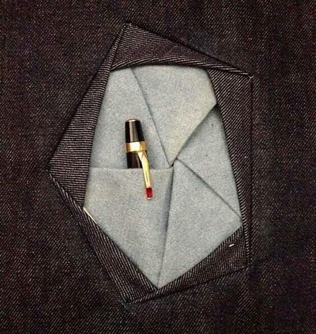 Круглый карман