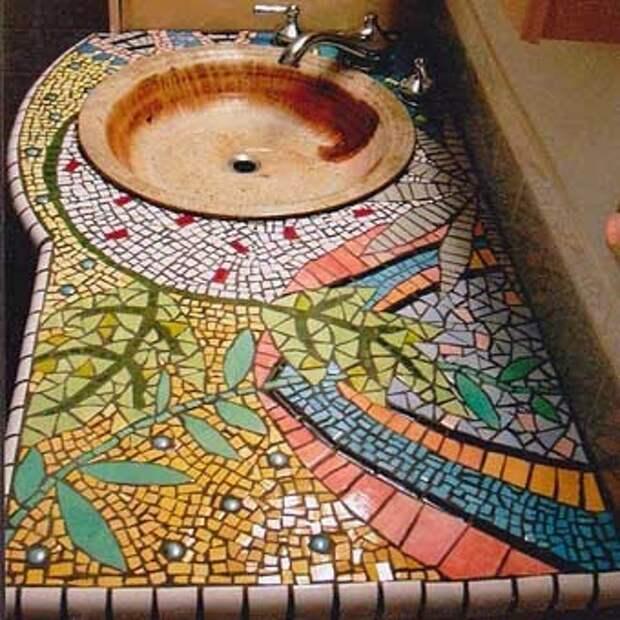 мозаика для кухни примеры