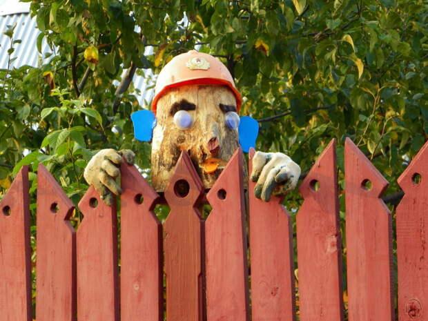 Когда у садовника есть чувство юмора. Смешной садовый дизайн