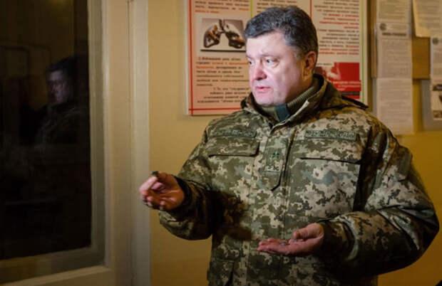 Порошенко повезет в Минск осколки «смерча»