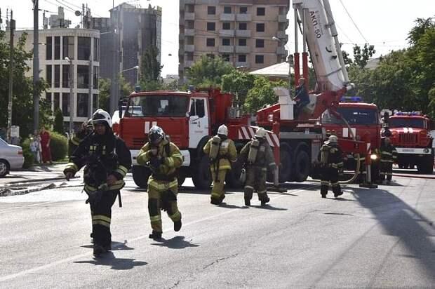 Спасатели Кубани отмечают профессиональный праздник