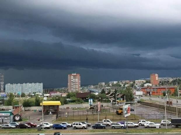 В ближайший час ожидаются дожди и гроза в Чите