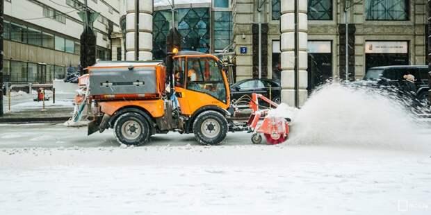 Местные жители недовольны уборкой снега на Римского-Корсакова