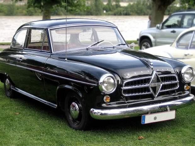 Китайцы возродят немецкую марку автомобилей Borgward