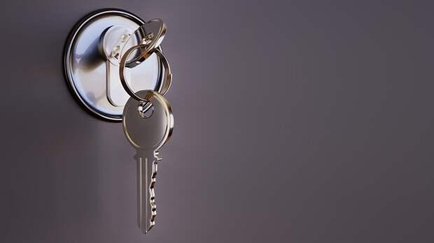 Ключ, Замок, Безопасность, Металла, 3D, Закрыто, Близко