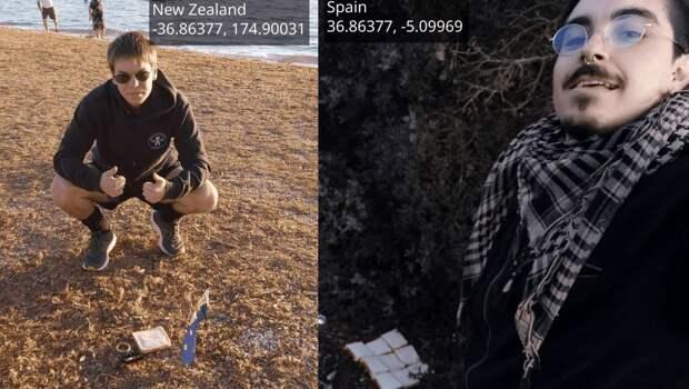Студенты из Новой Зеландии и Испании сделали сэндвич с планетой