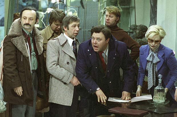 Кадр из фильма «Гараж», 1979 г.