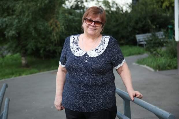 Пенсионерка из Лосинки оценила полученный набор «С заботой о здоровье»