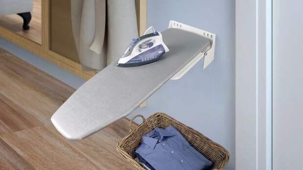 Идеи для хранения гладильной доски. Или 10 мест, где можно спрятать гладильную доску, фото № 12