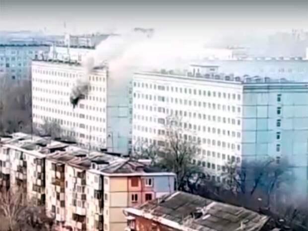 Пожар в общежитии Кемерова потушен, обошлось без жертв