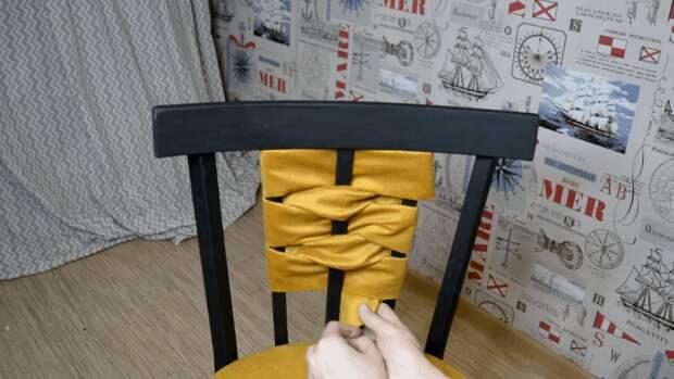 Стильная реставрация старого стула: просто, быстро и со вкусом