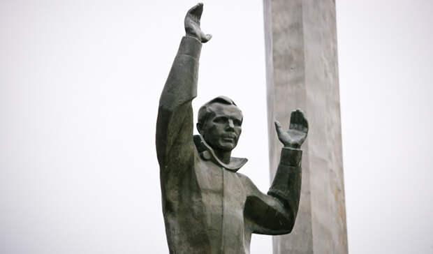 Памятник Гагарину вОренбурге ждёт дорогая реставрация ипеределка цветника