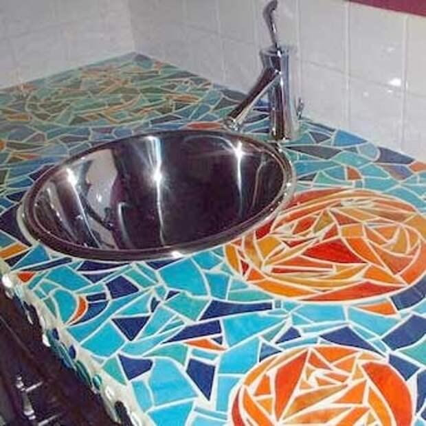 фото мозаика для кухни