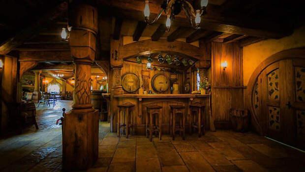 Хоббит-бар в Новой Зеландии
