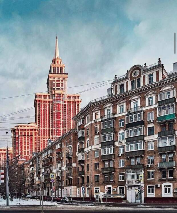 Фото дня: зимние улицы Сокола