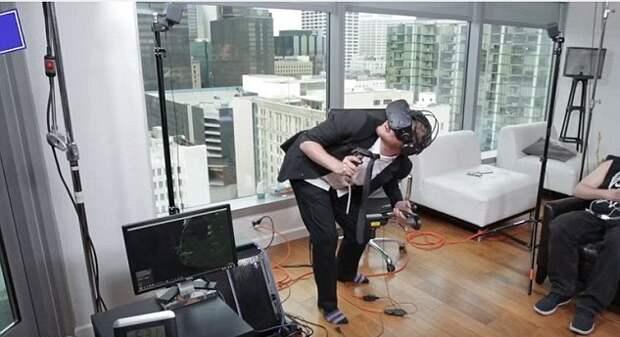 Американецпровел в виртуальной реальности 25 часов и начал путать ее с реальной жизнью