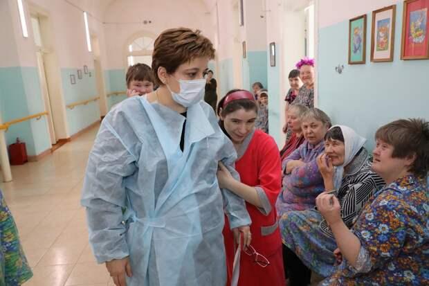 Нюта Федермессер рассказала, с чего начнется реформа психоневрологических интернатов в Нижегородской области