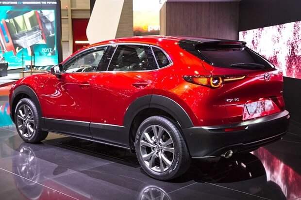 Новый компактный кроссовер Mazda CX-30.   Фото: en.wikipedia.org.