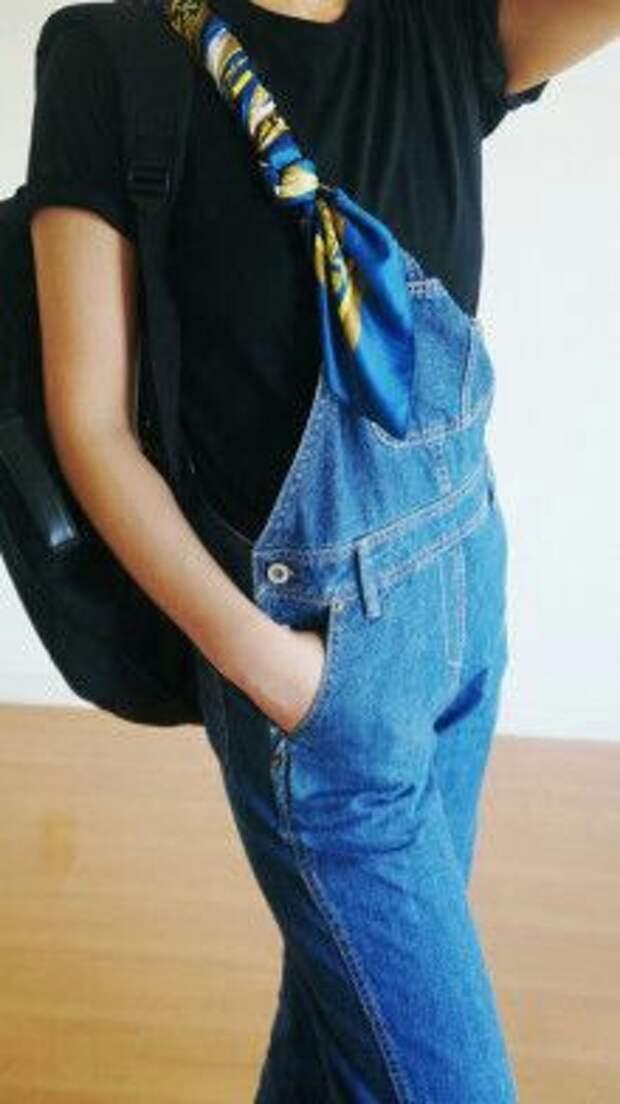 Про ношение платков (трафик)