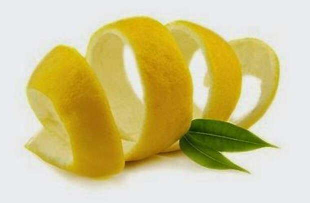 Чем полезна кожура лимона?