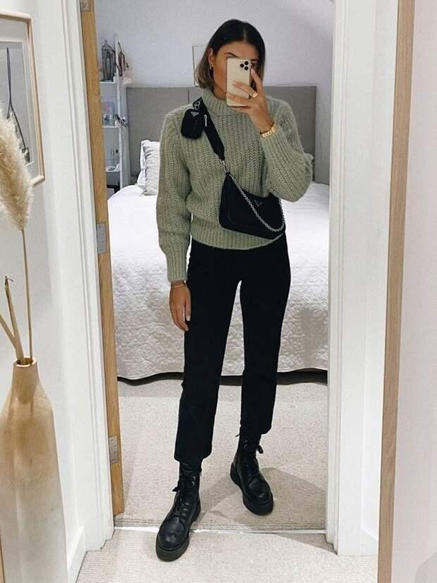 Самая модная зимняя обувь для женщин 2020/21 + готовые образы с фото