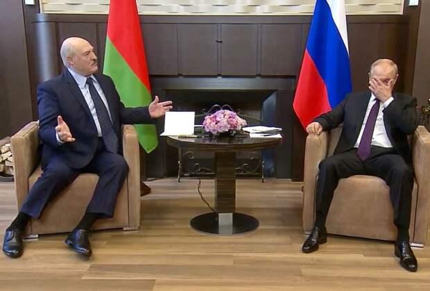 Лукашенко : Путин. Теперь 1,5 : 0