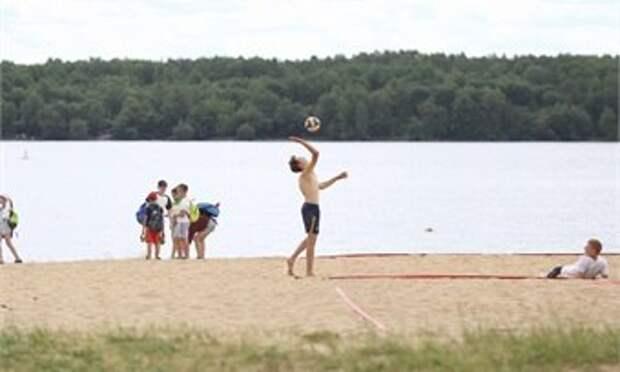 В Череповце официально открыли купальный сезон на четырёх пляжах