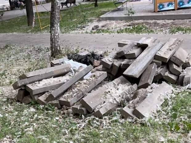 Строительный мусор с Беговой аллеи вывезут до конца июня – управа