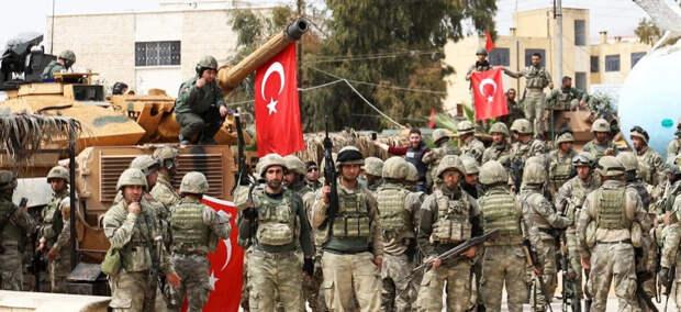"""Турецкая армия проводит в Ираке операцию """"Коготь орла-2"""""""