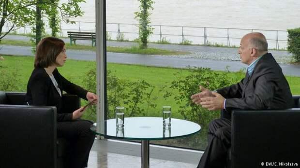 Жанна Немцова и Ежи Помяновский