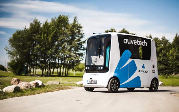 В Эстонии запустят беспилотные автобусы, работающие на водородном топливе