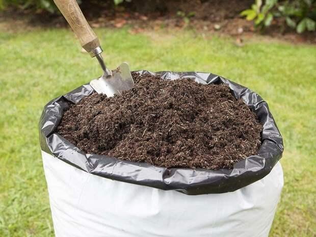 Наш компост зреет в мешках