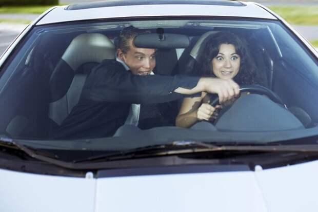 Вместе с мужем за рулём... или Ужасы втроём
