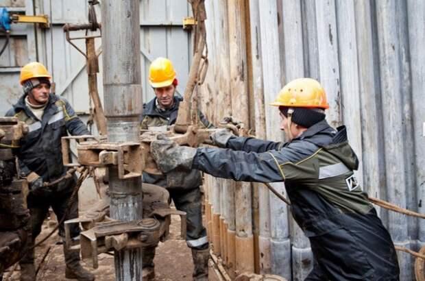 Башнефть добыча нефти Россия РФ