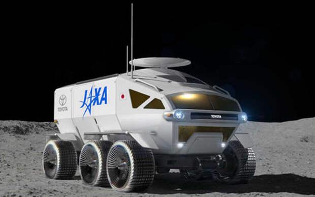 Тойоте заказали вездеход на двоих для Луны и Марса